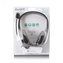 Ewent EW3562 Headset with mic Black